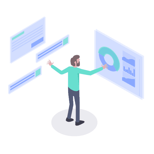 linkedin lead generation illustration